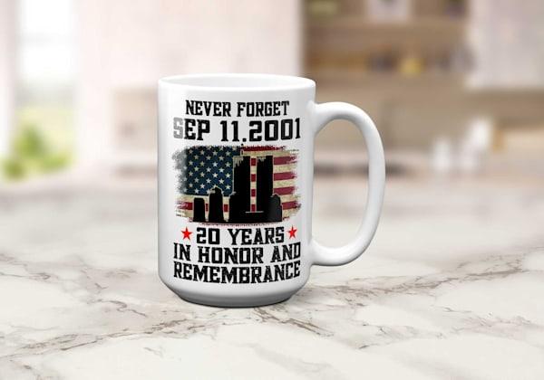 20 Year Remembrance Mug
