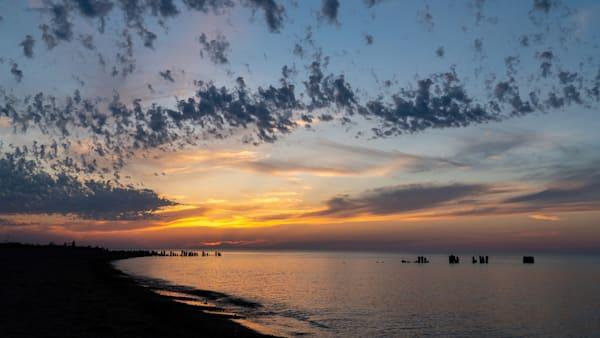 Sunset at Whitefish Point, Upper Peninsula, Michigan