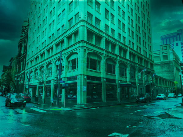 No 1583.Green Art | Glenn McDaniel Arts, LLC