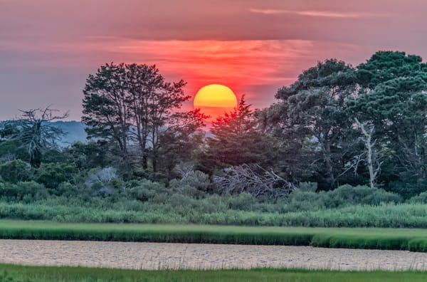 Sengekontacket Late Summer Sunset Art | Michael Blanchard Inspirational Photography - Crossroads Gallery
