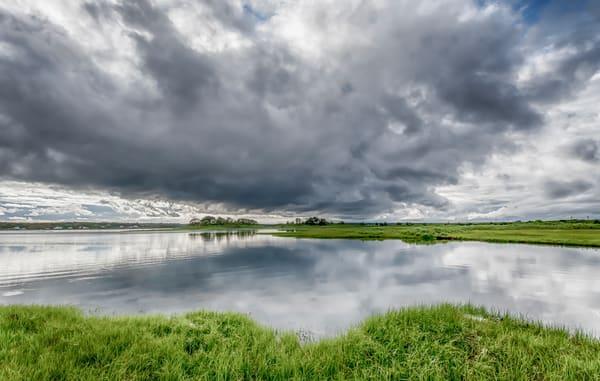 Sengekontacket Storm Clouds Art | Michael Blanchard Inspirational Photography - Crossroads Gallery