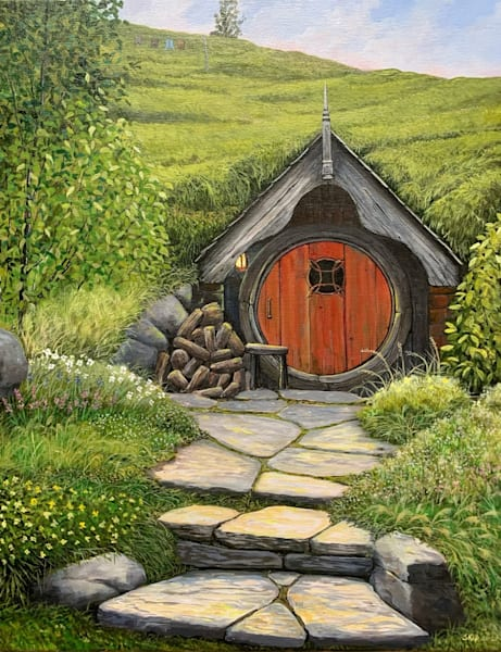 Hobbit House 4 Art | Skip Marsh Art
