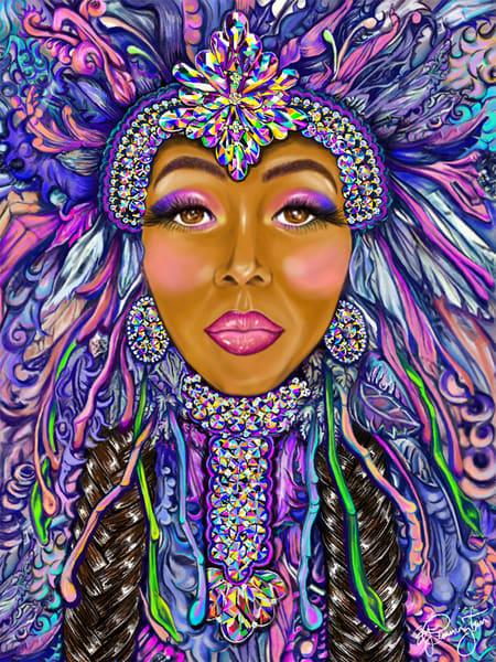 She Big Chief Art | Jamila Art Gallery
