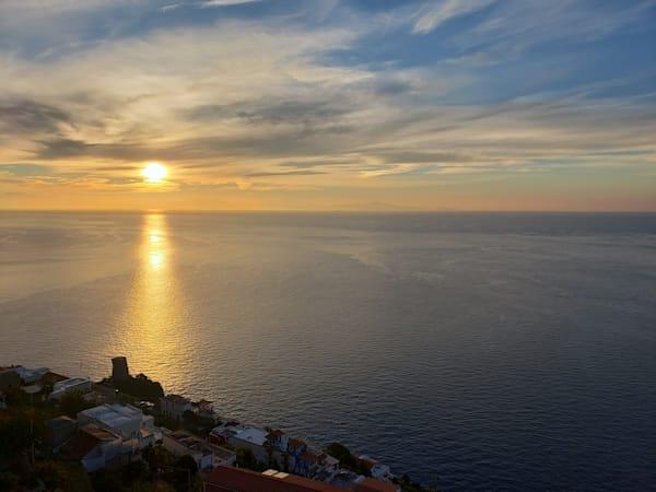 Sunrise On The Amalfi Coast, Number 1 Limited Edition Matted Photography Art | Photoissimo - Fine Art Photography