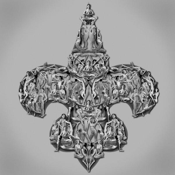 Elite Ehuit, Fleur De Lis Art | geometricphotographica