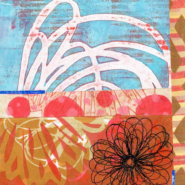 Hot Spring: Original Mixed Media Artwork by Jennifer Akkermans