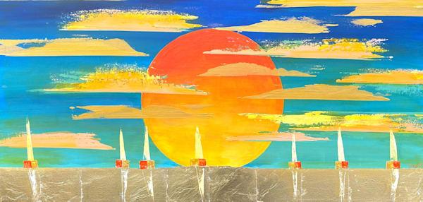 Blue Horizon Art | benbonart