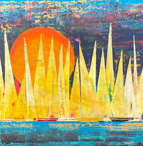 Evening Sail Art | benbonart
