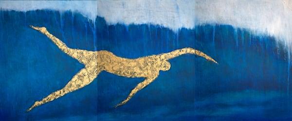 Swimmer  Art | Norlynne Coar Fine Art