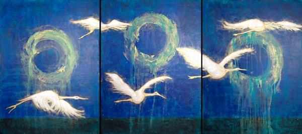 Cranes Of Peace Art | Norlynne Coar Fine Art