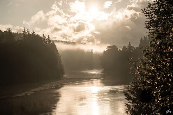 Misty River Art | TG Photo