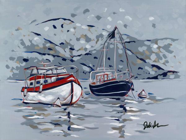 Nautical scene by Jodi Augustine Art.