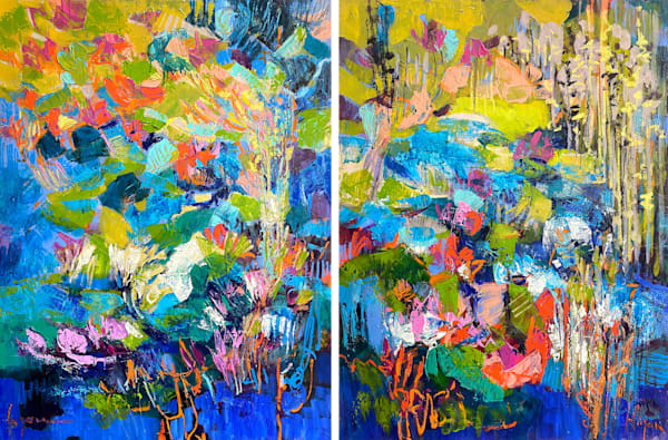 Oversize Oil Paintings by Dorothy Fagan