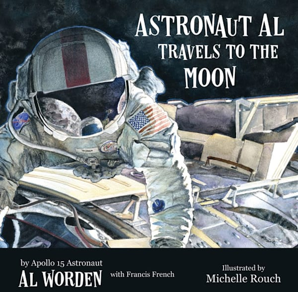 astronaut al travels to the moon