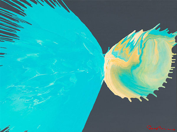 "Simon Bull Available Original Painting - ""Heaven Meets Earth"""