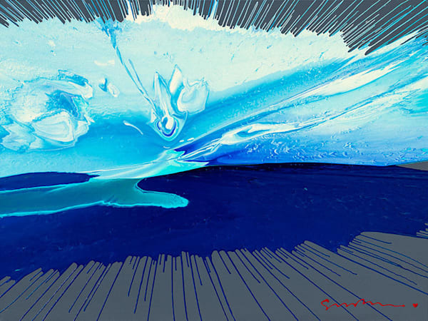 "Simon Bull Available Original Painting - ""Point Lobos"""