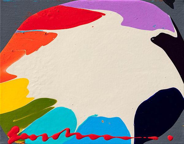 """Simon Bull Available Original Painting - """"Coat Of Many Colors"""""""