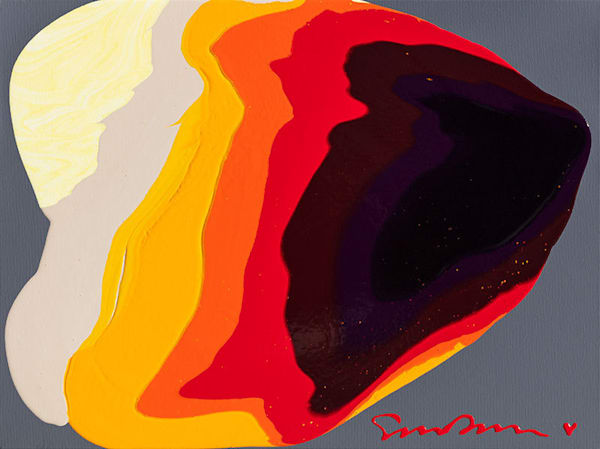"Simon Bull Available Original Painting - ""Warp"""