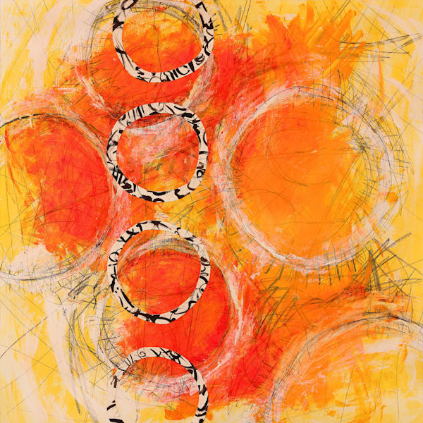 End of Summer - Original Abstract Painting | Cynthia Coldren Fine Art