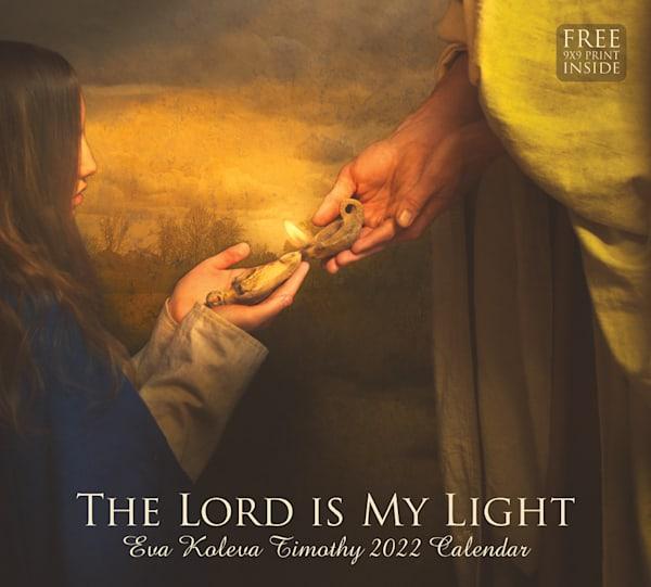 Eva Koleva Timothy 2022 Calendar   The Lord Is My Light | Cornerstone Art
