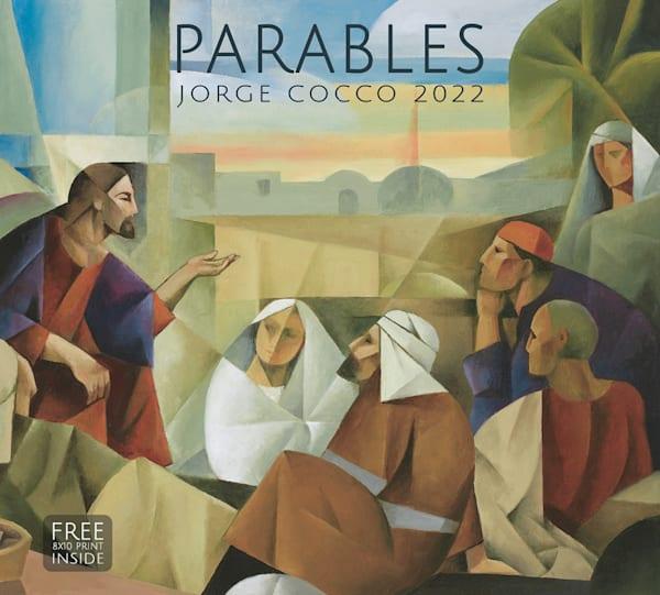 Jorge Cocco 2022 Calendar   Parables | Cornerstone Art