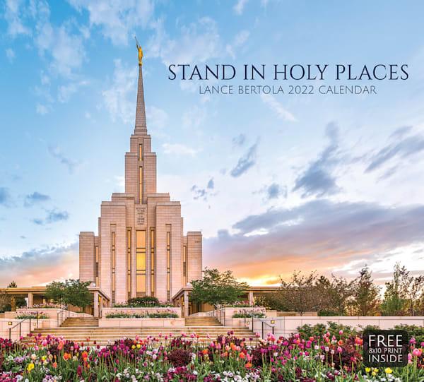 "Lance Bertola 2022 Calendar   ""Stand In Holy Places"" | Cornerstone Art"