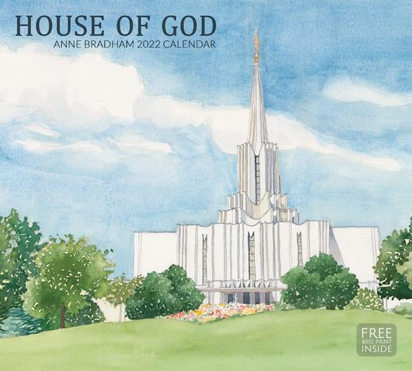 "Anne Bradham 2022 Calendar ""House Of God"" | Cornerstone Art"