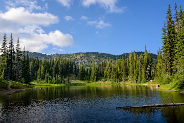 Shadow Lake, Mt. Rainier National Park, Washington, 2021