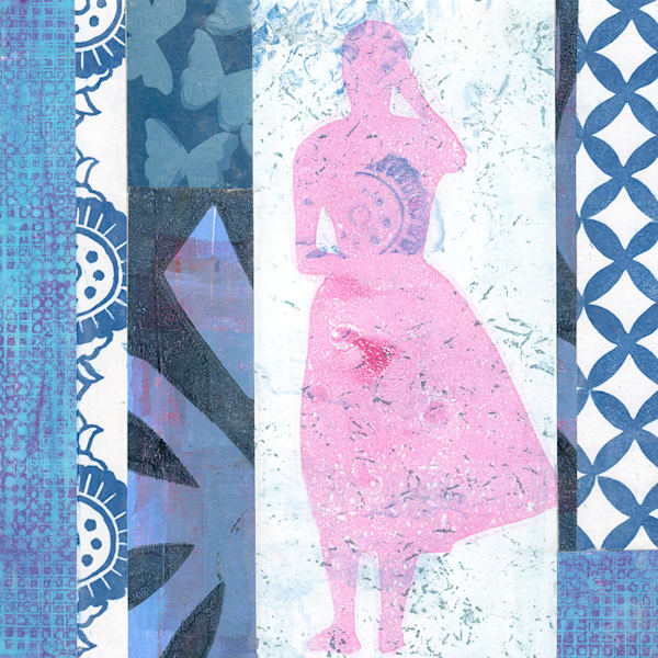 Woman: A Mixed Media Artwork by Jennifer Akkermans