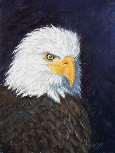 Bald Eagle   Original Art   Mark Grasso Fine Art
