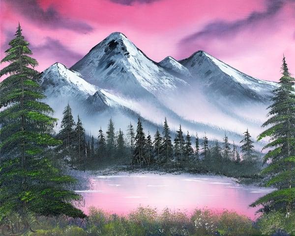 Fire Mountain Photography Art   Cuda Nature Art