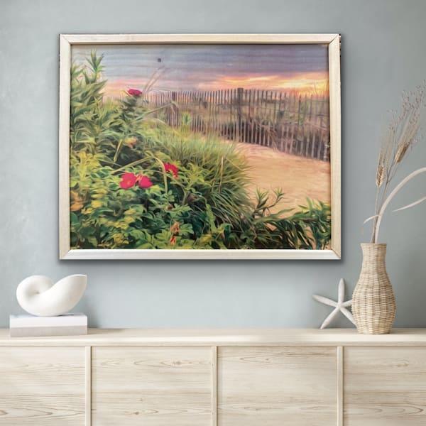 Beach Roses Wood Creation | Silver Sun Photography