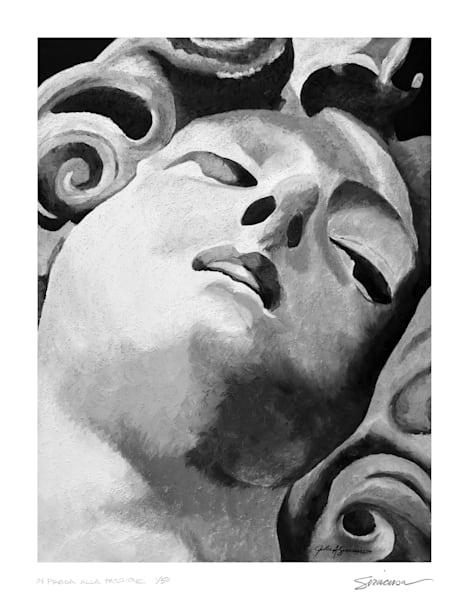 Bernini's Angel, Limited Edition Print Art | juliesiracusa