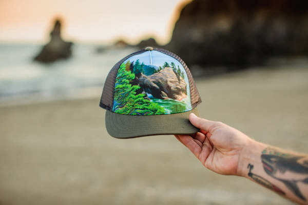 Thunder Rock South Trucker Hat by Spencer Reynolds