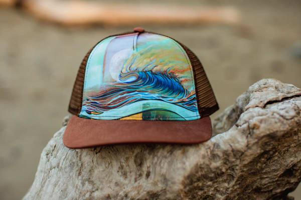 Gathering Wool Trucker Hat by Spencer Reynolds