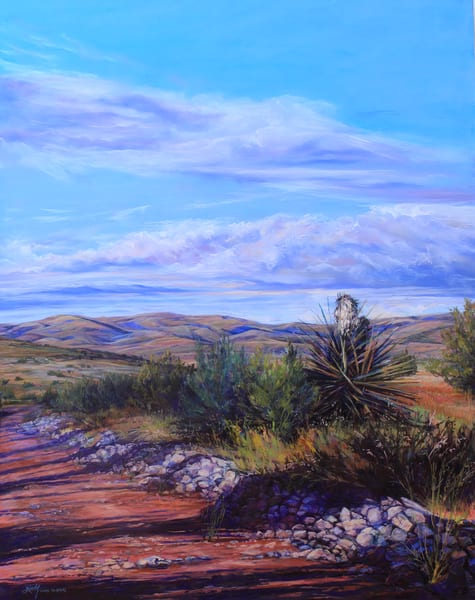 Lindy Cook Severns Art | The Road Less Traveled, print