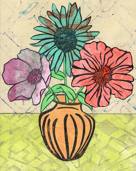 Contentment: An Original Mixed Media Artwork by Jennifer Akkermans