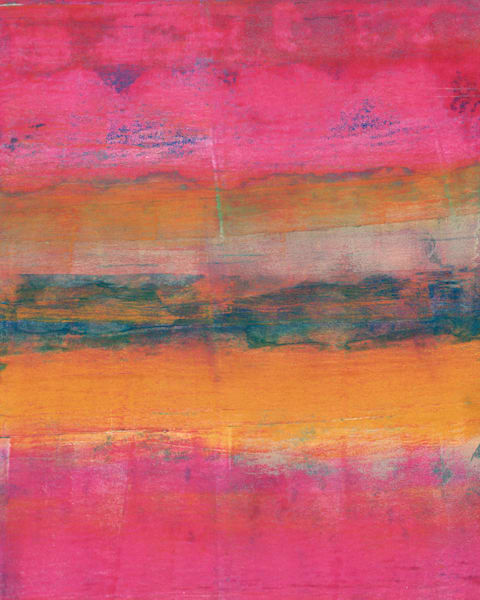 Martian Landscape: A Mixed media artwork by Jennifer Akkermans