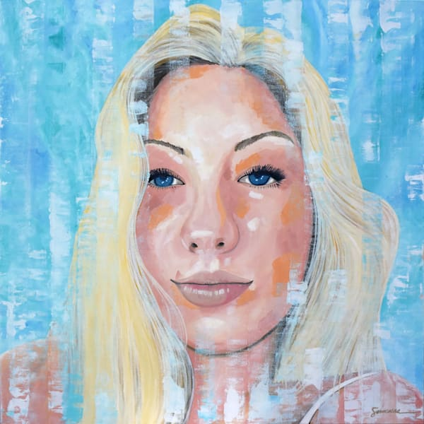 """Rami, Commissioned Portrait, 36"""" X 36"""", Oil On Canvas 