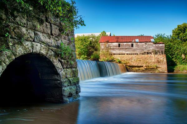 Green Mill at Falls of Rough - Kentucky fine-art photography prints