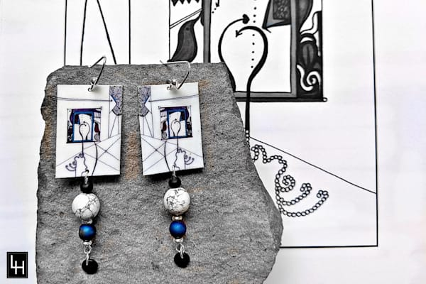 Yeah In Fact I Thought It Was Going To Be Something Else Altogether_No. 1 Earrings