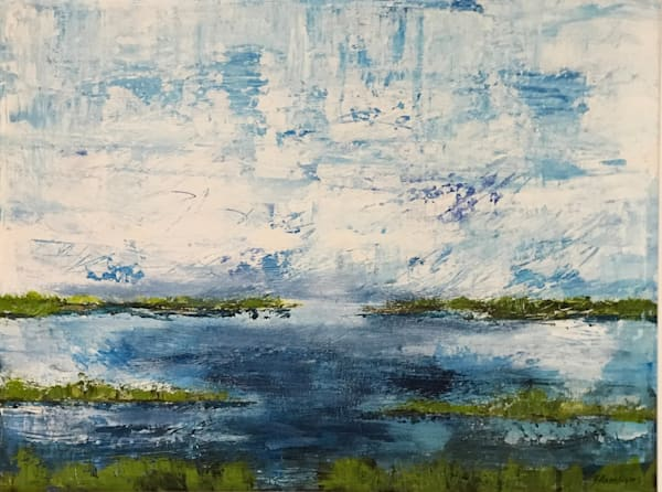 Blue's Hues Art   B Mann Myers Art