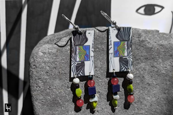Core Sample One_No. 2 Earrings