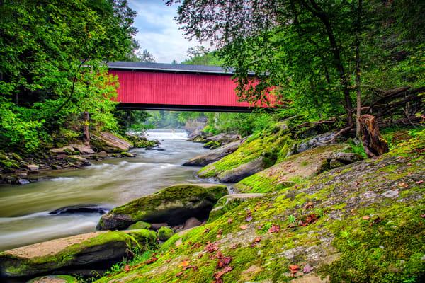 McConnell's Mill Bridge - Pennsylvania covered bridges fine-art photography prints