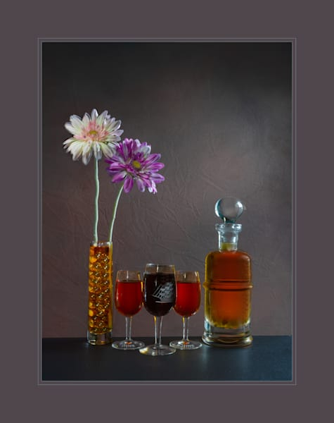 A Fine Art Photograph of Thirsty Flowers by Michael Pucciarelli