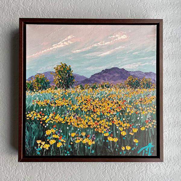 If Flowers Chose Their Home   Oil Embellished Giclée #4 Art   Tessa Nicole Art