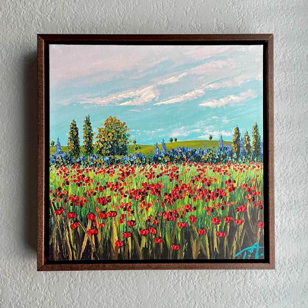 Going The Distance   Oil Embellished Giclée #4 Art   Tessa Nicole Art