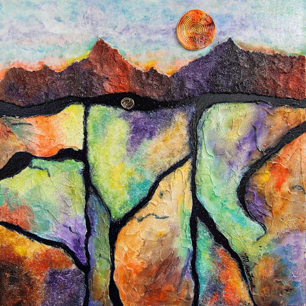 Golden Colorado Sunset Art | Mickey La Fave