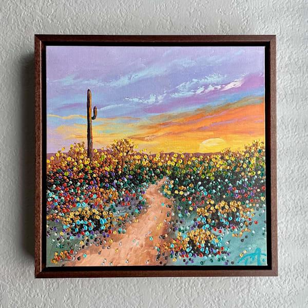 A Desert Soul   Oil Embellished Giclée #5 Art   Tessa Nicole Art