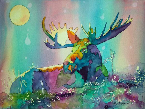 Amazing Moose Art | Mickey La Fave